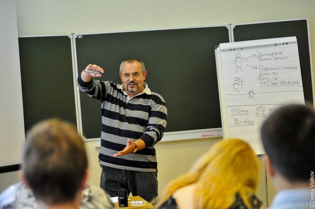 Лекция руководителя Проекта Бориса Надеждина