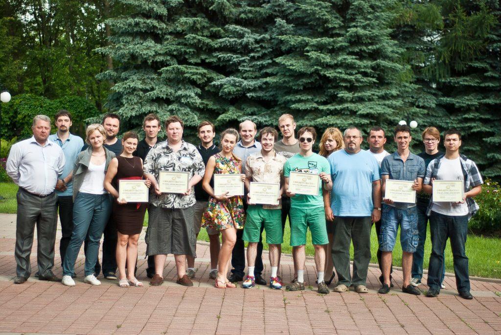 Участники Конкурса в Подмосковье